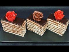 Cea mai buna reteta a copilariei prajitura Dobos cu foi Romanian Desserts, Icing Recipe, Chocolate Cream, Cookies Ingredients, Cream Recipes, Biscotti, Vanilla, Decorative Boxes, Sweets