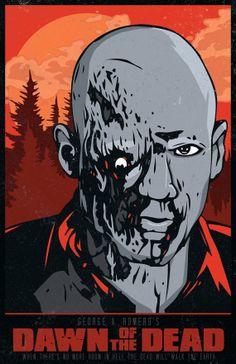 Dawn of the Dead - George A. Romero by MattPepplerArt