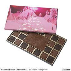 Blanket of Stars Christmas Chocolate Assortment 45 Piece Assorted Chocolate Box