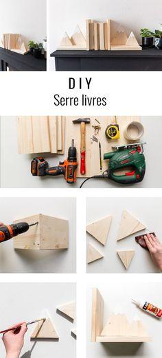 DIY serre-livres