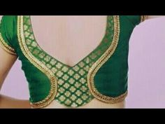 Back neck designs for blouse drafting cutting and stitching Brocade Blouse Designs, Patch Work Blouse Designs, Simple Blouse Designs, Saree Blouse Neck Designs, Stylish Blouse Design, Designer Blouse Patterns, Dress Neck Designs, Neck Designs For Suits, Beautiful