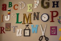 wall covered in letters - Google Search