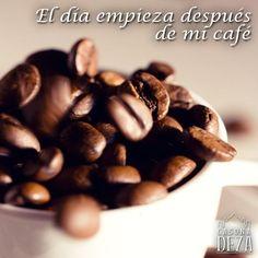¿A qué hora te tomas tu primera taza de #café del día?.
