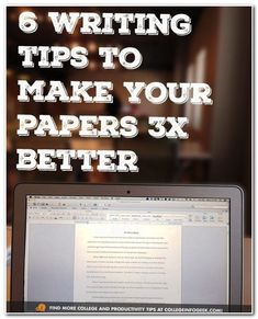 Writing Tips To Make Your Papers Better 6 tips to write better papers. Make an appt at UK's writing center here: 6 tips to write better papers. Make an appt at UK's writing center here: College Hacks, School Hacks, College Life, Uni Life, College Essay Tips, Espn College, College Ready, Dorm Life, Education College