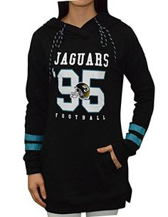 NFL Womens Jacksonville Jaguars Athletic Warm Hoodie  Sweatshirt L Black ** Want to know more, click on the image. (This is an affiliate link) #ExerciseandFitnessWomensClothing