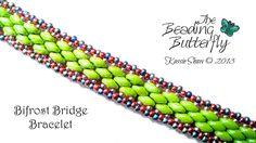 Bifrost Bridge Bracelet - Tutorial Available by beadg1rl on DeviantArt