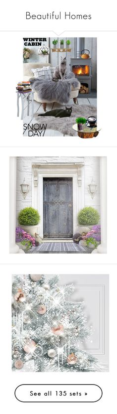 """Beautiful Homes"" by elena-777s ❤ liked on Polyvore featuring interior, interiors, interior design, home, home decor, interior decorating, Safavieh, Anna Sui, Poste and WALL"