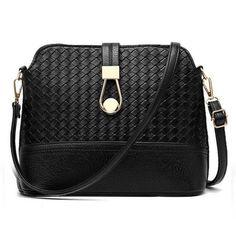 4babc99bcfd New Fashion Shell Women Messenger Bags Cross body Bag PU Leather Plaid  Small Female Shoulder Bag for Women Crossbody