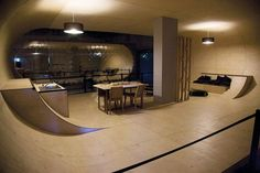 Skate ramp house - Kydo has already hit me up for one in his bedroom