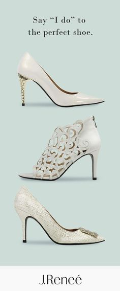 Shine bright on your wedding day in the Maressa, Mcwayfalls, or Bilboa. Shop J. Wedge Wedding Shoes, Bridal Shoes, Cute Wedding Ideas, Wedding Day, Monsieur Madame, Shoe Boots, Shoes Heels, Me Too Shoes, Kitten Heels