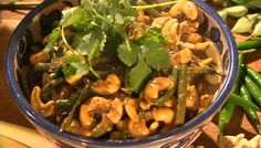 Rick Stein served up a cashew nut curry with Sri Lankan roasted curry powder on Saturday Kitchen. The ingredients are: 300 g Cashew Nuts, 2 tbsp Vegetable Oil, 1 stick Cinnamon stick, 150 g Onion, 2 cloves garlic, 0.5 tsp Turmeric power, 2 tsp Sri Lankan Curry power, 400 ml coconut milk, 2 stalks Lemon Grass, 4 pieces Pandan (Screw Pine) 3cm long, 10-12 Curry Leaves, 150 g Green Beans, 1 tsp Palm sugar, 1 tbsp Lime Juice and handful of fresh garlic.   Related PostsRick Stein cod and clams…