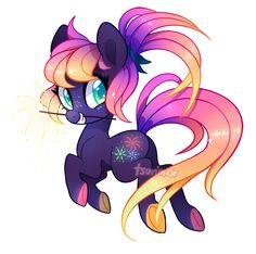 MLP Adoptable Auction - Sparkler (CLOSED) by tsurime.deviantart.com on @DeviantArt
