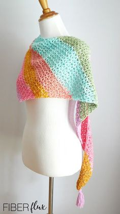 Fiber Flux: Comforts of Home Wrap, Free Crochet Pattern   Video Series on Fiber Flux Knit Or Crochet, Crochet Scarves, Free Crochet, Crochet Hats, Crochet Patterns For Beginners, Knitting Patterns, Crochet Tutorials, Crochet Projects, Yarn Projects