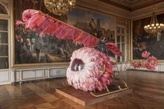 From 15 February 2014, Manchester Art Gallery will stage the UK's most ambitious exhibition of works by Portuguese contemporary artist Joana Vasconcelos Photo: Lilicoptère 2012 #Portugal
