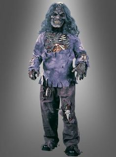 Untoter Zombie Kinderkostüm