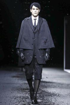Thom Browne Menswear Fall Winter 2015 Paris - NOWFASHION