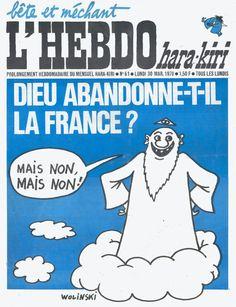 Charlie Hebdo - Wolinski