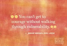 The power of vulnerability, the way to courage, connection, and compassion. The answer to everything. Not even kidding. Check it out. Brene Brown is on to something here peeps.