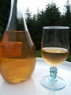 Le vin de pêches