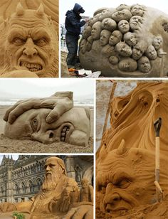 37 Sand Sculptures that Make Your Castle Look Sad | WebUrbanist