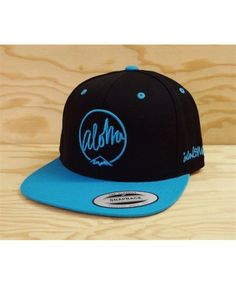 31bd1f41d08add Island Snow Six Panel Snapback Hat - ISH Aloha; Color Options: Black,  Natural-Black, Black-Teal and Red. $25.00. Island Snow Hawaii