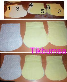 Tikbumsa: Kukkaroita ja tuplakehyksiin ompeluohje