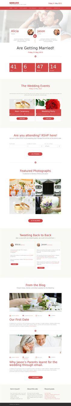 wedding website examples - Google Search | Wedding website ...