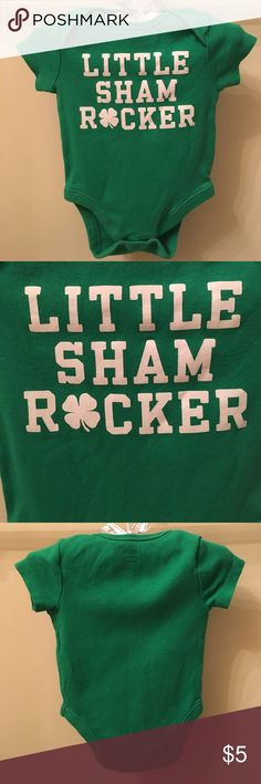 Old Navy Little Sham Rocker Onesie Old Navy Little Sham Rocker Onesie. Perfect for St. Patrick's Day coming up soon! Old Navy Shirts & Tops Tees - Short Sleeve