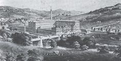 A view of 19th century Saltaire