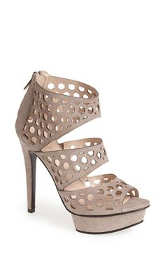 Pelle Moda 'Mahal' Suede Platform Sandal (Women) available at #Nordstrom