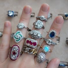 How Are Vintage Engagement Rings Not The Same As Modern Rings? If you're deciding from a vintage or modern diamond engagement ring, there's a great deal to consider. Engagement Ring On Hand, Cheap Engagement Rings, Antique Engagement Rings, Jewelry Gifts, Fine Jewelry, Cheap Jewelry, Antique Wedding Rings, Tungsten Wedding Bands, Fashion Rings