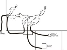Pump Float Switch Wiring Diagram With Schematic On Level