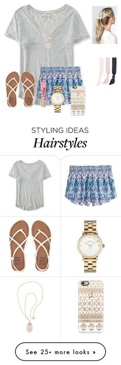 """""""RTD!"""" by raquate1232 on Polyvore featuring Aéropostale, H&M, Billabong, Carolee, Casetify, Marc Jacobs and Splendid"""