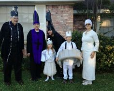 Chess Pieces group costume entry
