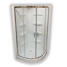 Au0026E Bath U0026 Shower Nevada NR38 38 In Acrylic Neo Round Shower Corner Kit |  *Plumbing U003e Plumbing Fixtures* | Pinterest | Bath Shower, Nevada And  Acrylics
