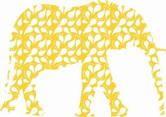 Nursery Yellow  Elephant  Fabric Wall Decals Stickers by Popitay, $47.00  https://www.etsy.com/listing/95665932/nursery-yellow-elephant-fabric-wall?ref=sr_gallery_31&ga_order=date_desc&ga_view_type=gallery&ga_page=14&ga_search_type=all