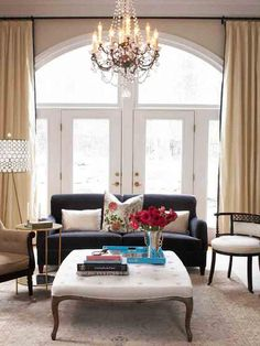 25 Biggest Decorating Mistakes and Solutions : Decorating : Home & Garden Television  solution for the living and dining room windows