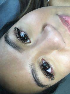 Volume eyelash extensions ! Eyelashes by me :) IG: @OutLashRI