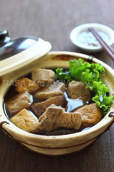 Bak Kut Teh Recipe (Pork Bone Tea Soup) | Easy Asian Recipes at RasaMalaysia.com   *simpe recipe