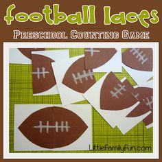 1000 images about sports pre k on pinterest free for Football crafts for preschoolers