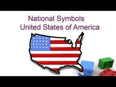 National symbols of United states of America for kids - Preschool and Kindergarten children - YouTube