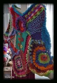 Resultado de imagen de freeform crochet