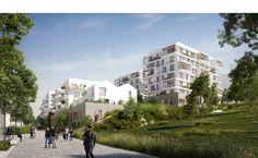 Ameller, Dubois et Associés - The projects - Noisy-le-Grand - 220 apartments