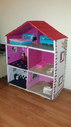 Bebek evi Pink Wallpaper Iphone, Pink Iphone, Wallpaper Backgrounds, Barbie Princess, Diy Cardboard, Gisele, Barbie Clothes, Dollhouse Miniatures, Activities