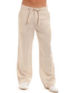 Camel Linen Beachcomber Pants