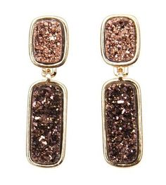 Davis Earrings - $130   New earrings!  www.nhdshop.com