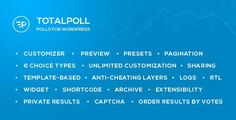 Download - TotalPoll Pro v2.7 - WordPress Poll Plugin - Themes24x7 - Free Premium Blogger and Wordpress Templates