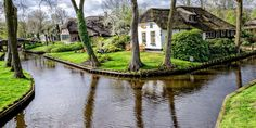 There Is A Magical Little Town In Holland Where The Streets Are Made Of Water