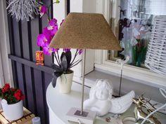 Liisan kotona: DIY Lampun tuunaus hiekalla