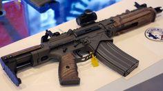 Battle Arms Development's new SBR - Love the wood furniture